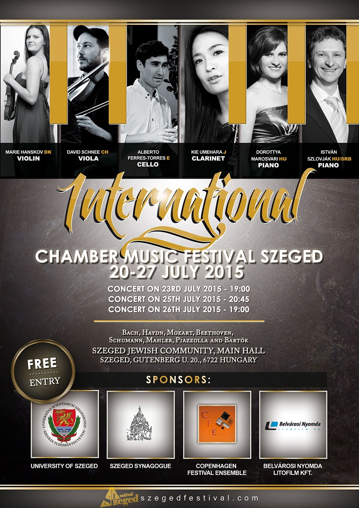 international chamber music festival Szeged